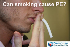 smoking can cause erectile dysfunction and premature ejaculation