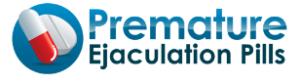 premature ejaculation pills logo